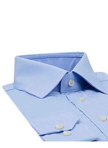 D'S Damat Regular Fıt Gömlek Mavi
